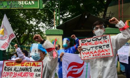 'Burnt out': Philippine nurses battle COVID and resignations